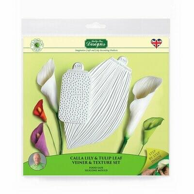 Flower Pro Calla Lily & Tulip Leaf Vein & Texture Set