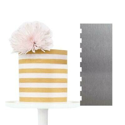 Two Sided Cake Scraper | Small Strip