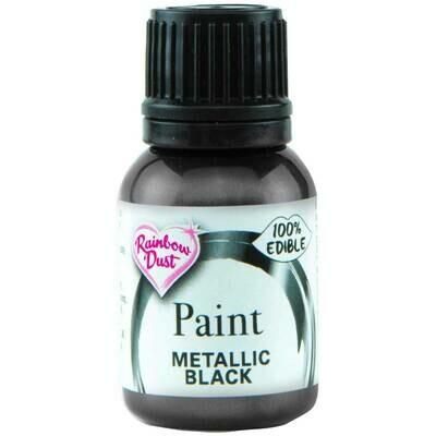 Metallic Paint Black by Rainbow Dust