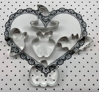 Halloween Mini Cookie Cutter Set