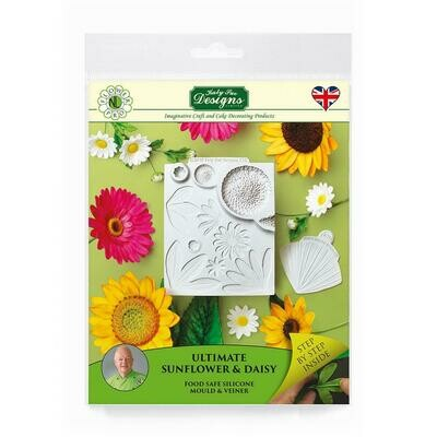 Flower Pro Ultimate Sunflower / Daisy Mould and Veiner