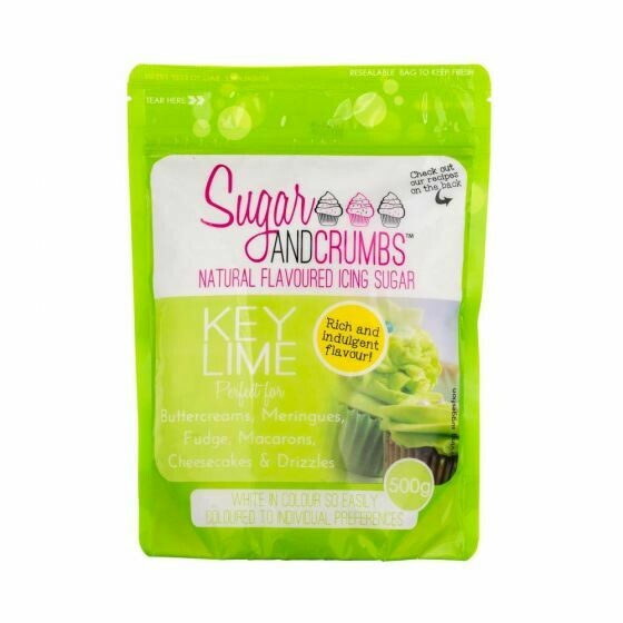 Sugar and Crumbs Key Lime Flavoured Icing Sugar