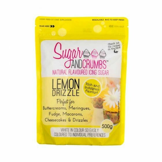 Sugar and Crumbs Lemon Drizzle Flavoured Icing Sugar
