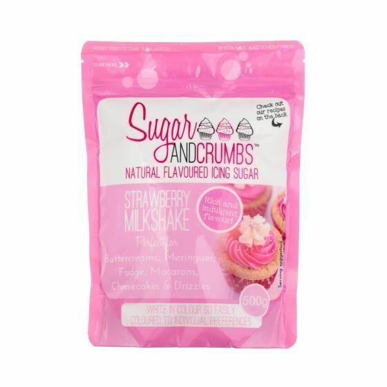 Sugar and Crumbs Strawberry Milkshake Flavoured Icing Sugar