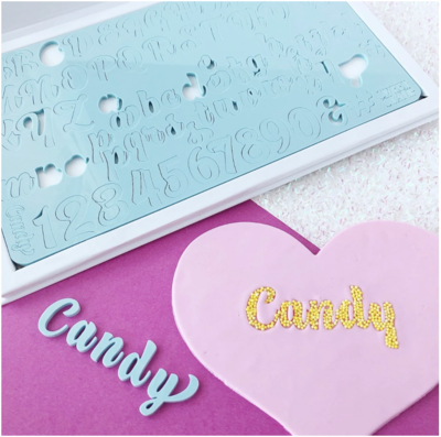 SWEET STAMP - CANDY SET - UPPERCASE, LOWERCASE, NUMBERS & SYMBOLS
