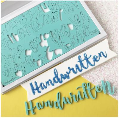 Sweet Stamp - Handwritten Upper & Lower Case