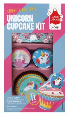 Unicorn Wafer Cupcake Decorating Kit