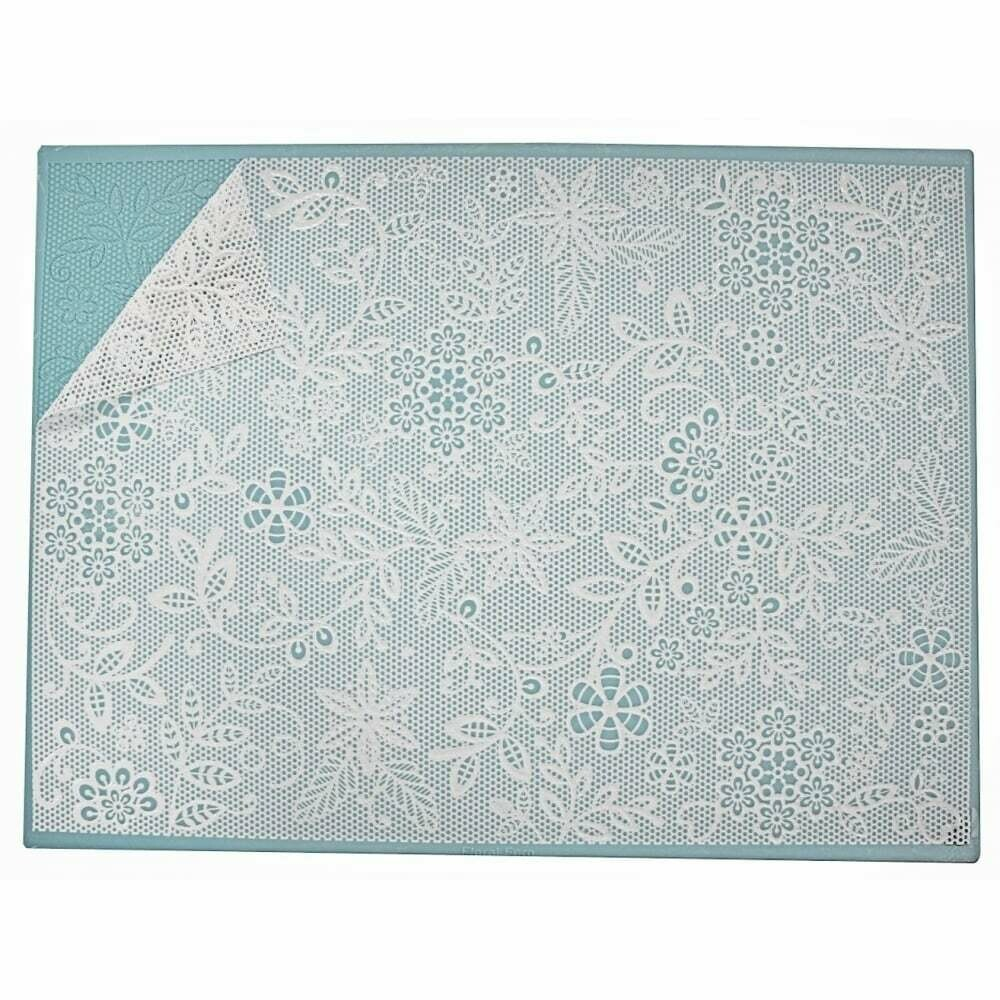 Floral Fern Cake Lace Mat