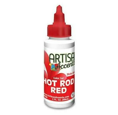 Hot Rod Red - Artisan Accents Gel Color