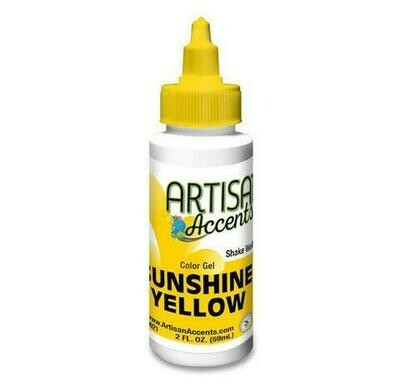 Sunshine Yellow - Artisan Accents Gel Color