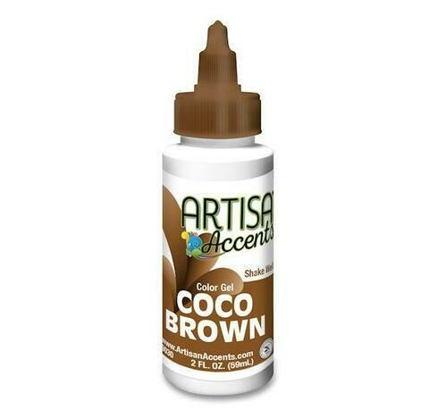 Coco Brown - Artisan Accents Gel Color