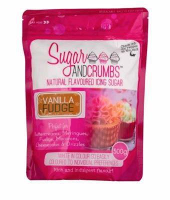 Sugar and Crumbs Vanilla Fudge Flavoured Icing Sugar