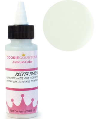 Cookie Countess -Pretty Pearl Shimmer edible airbrush color 2oz
