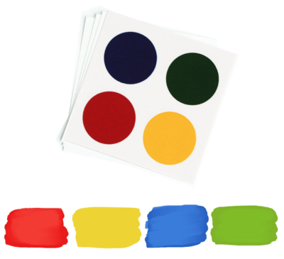 PYO Paint Palettes - Primary Colors