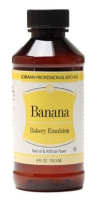 Banana, Bakery Emulsion 4 oz.