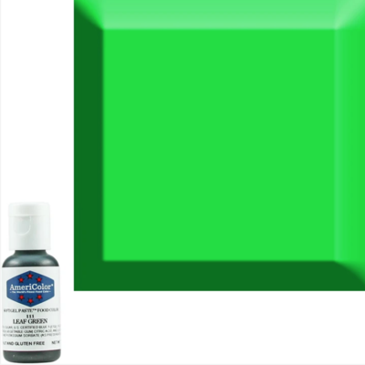 Leaf Green Americolor 0.75 oz Soft Gel Paste