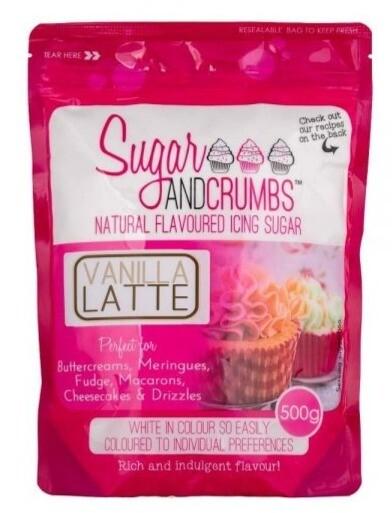 Sugar and Crumbs Vanilla Latte Flavoured Icing Sugar
