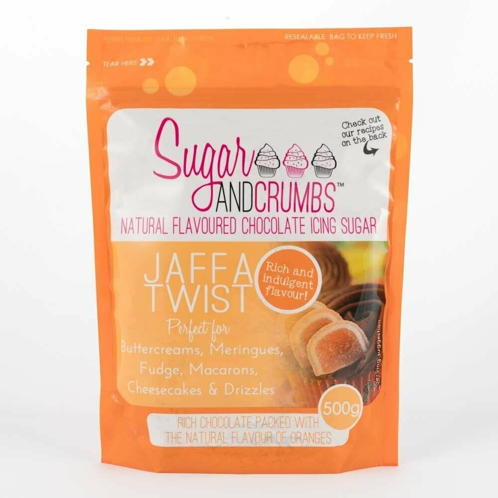 Sugar and Crumbs Jaffa Twist Flavoured Icing Sugar