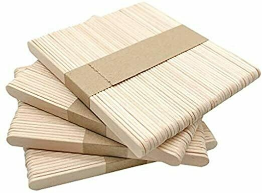 "4 1/2"" Popsicle Sticks - 50 pcs."