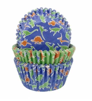 Dinosaur Cupcake Cases - 75