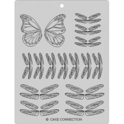 Gelatin Veining Sheet - Dragonfly