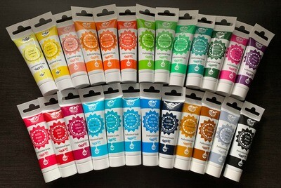 Progel Set of 25 Colors