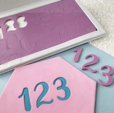 Sweet Stamp Numbers & Symbols - Elegant