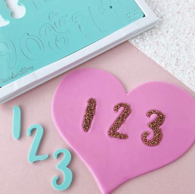 Sweet Stamp Numbers & Symbols - Handwritten