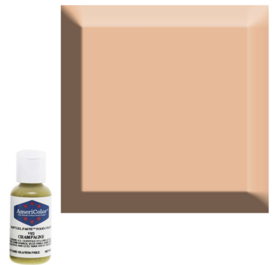 Champagne Americolor 0.75 oz Soft Gel Paste