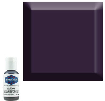 Eggplant Americolor 0.75 oz Soft Gel Paste