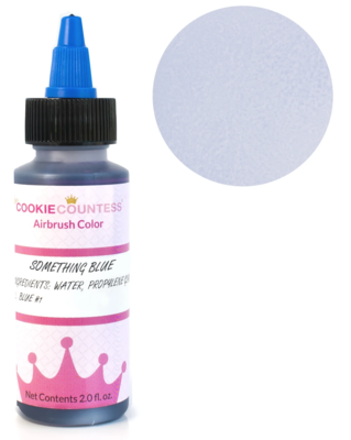 Cookie Countess - Something Blue edible airbrush color 2oz