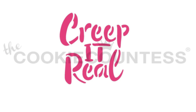 Creep It Real Stencil by Cookie Countess