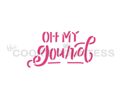Oh My Gourd Stencil by Cookie Countess