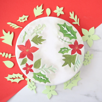SWEET STAMPS - CHRISTMAS FOLIAGE ELEMENTS