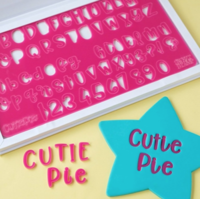 Sweet Stamps- Cutie Pie Full Set (Upper & Lower Case Letters, Numbers & Symbols)