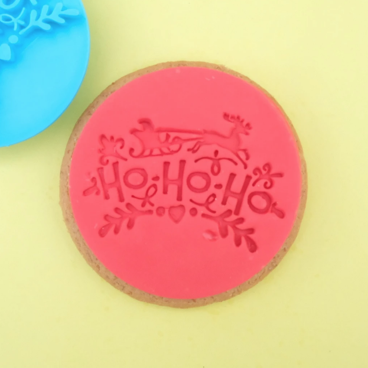 HO HO HO - COOKIE/CUPCAKE EMBOSSER