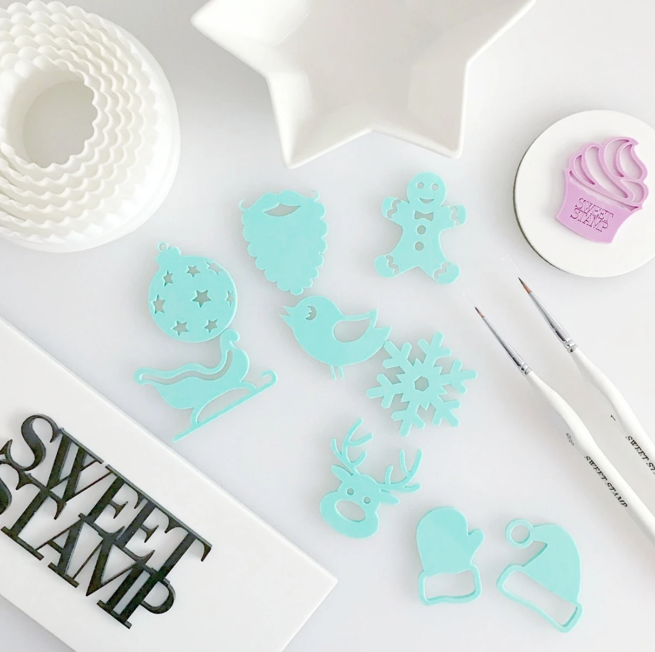 SWEET STAMPS - CUTE CHRISTMAS ELEMENTS