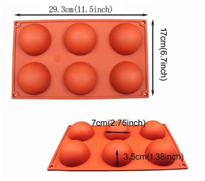 Silicone Hot Cocoa Bomb Molds