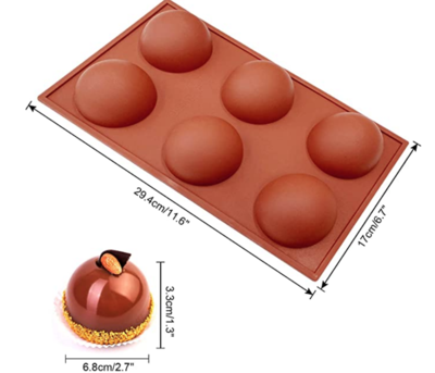 Silicone Hot Chocolate Bomb Molds