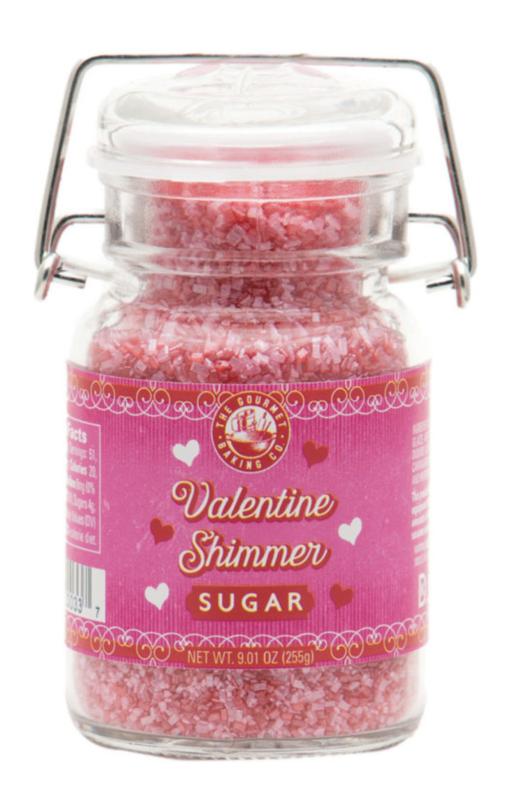 Valentine Shimmer Sugar - 7.56 oz