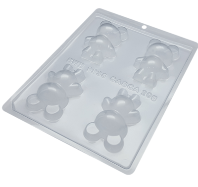 Mini Teddy Bear - 3 Part Mold - PRE-ORDER - Arriving end of January