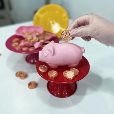Piggy Bank - 3 Part Mold