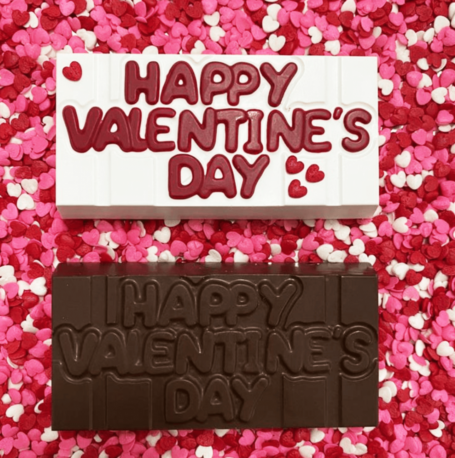Happy Valentine's Day Tablet - 3 Part Mold - PRE-ORDER - Arriving Feb. 5