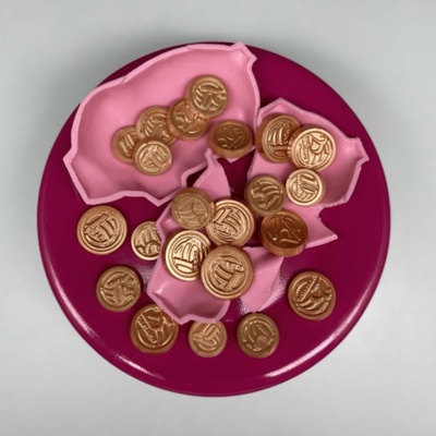 Chocolate Coins - Simple Form