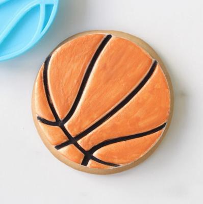 BASKET BALL - COOKIE/CUPCAKE EMBOSSER