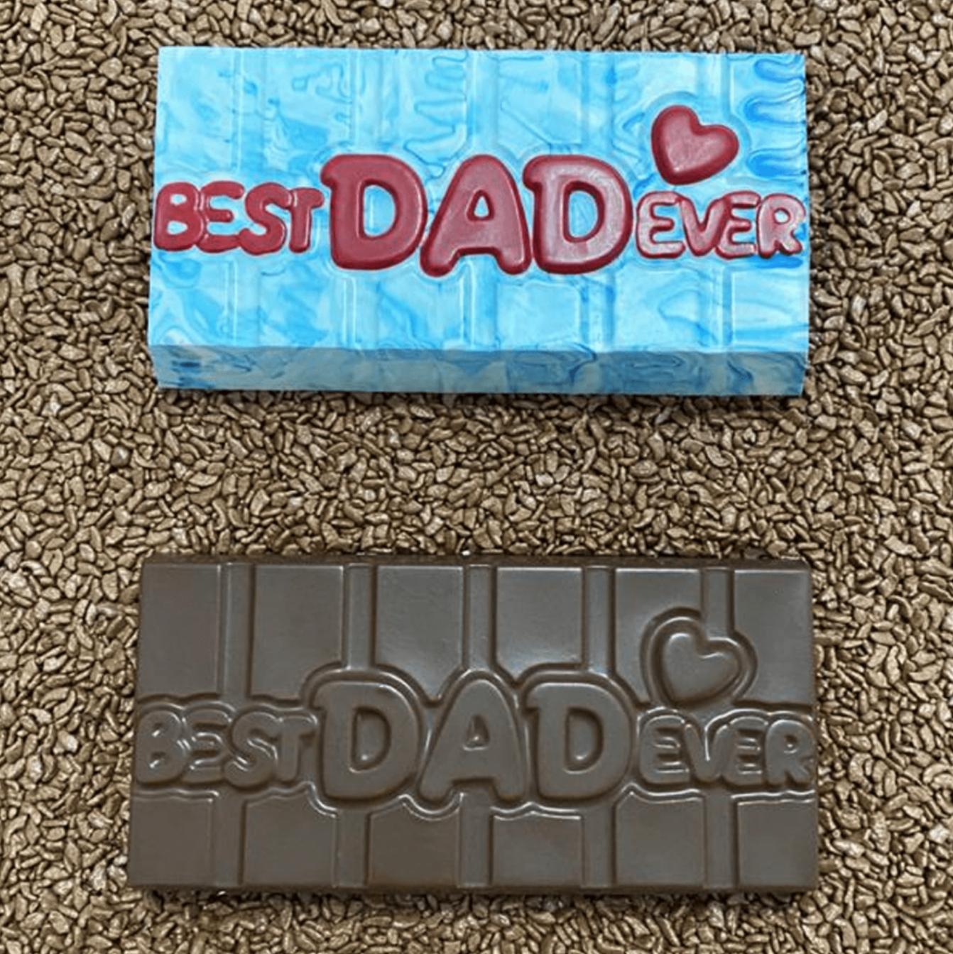 Best Dad Ever Tablet - 3 Part Mold - PRE-ORDER - Arriving end of January
