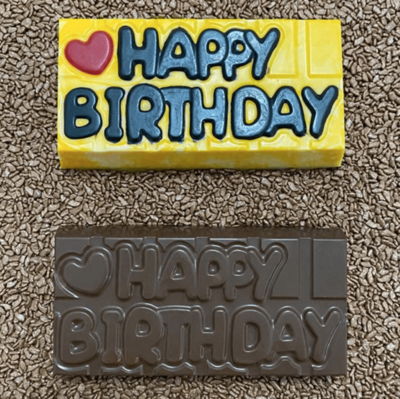 Happy Birthday Tablet - 3 Part Mold - PRE-ORDER - Arriving end of January