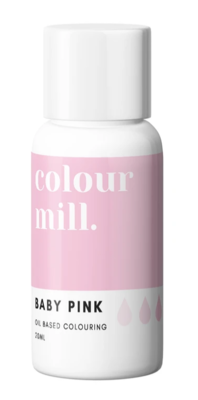 Oil Based Colouring 20ml Baby Pink - Color Mill
