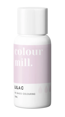 Oil Based Colouring 20ml Lilac - Color Mill