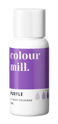 Oil Based Colouring 20ml Purple - Color Mill